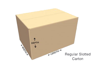 How to do dimensions on boxes